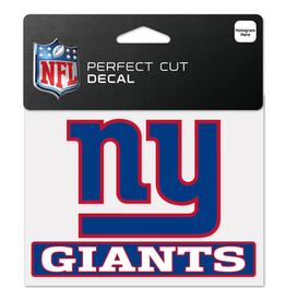 "WINCRAFT New York Giants 4.5"" x 5.75"" Perfect Cut Decals"