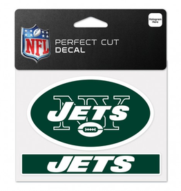 "WINCRAFT New York Jets 4.5"" x 5.75"" Perfect Cut Decals"