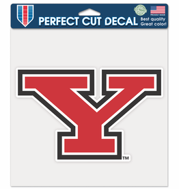 """Youngstown State Penguins 8""""x8"""" Perfect Cut Decal"""