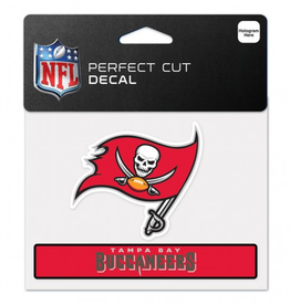 "WINCRAFT Tampa Bay Buccaneers 4.5"" x 5.75"" Perfect Cut Decals"