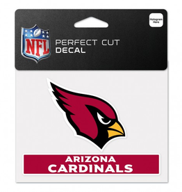 "WINCRAFT Arizona Cardinals 4.5"" x 5.75"" Perfect Cut Decals"