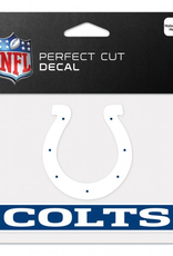 """WINCRAFT Indianapolis Colts 4.5"""" x 5.75"""" Perfect Cut Decals"""