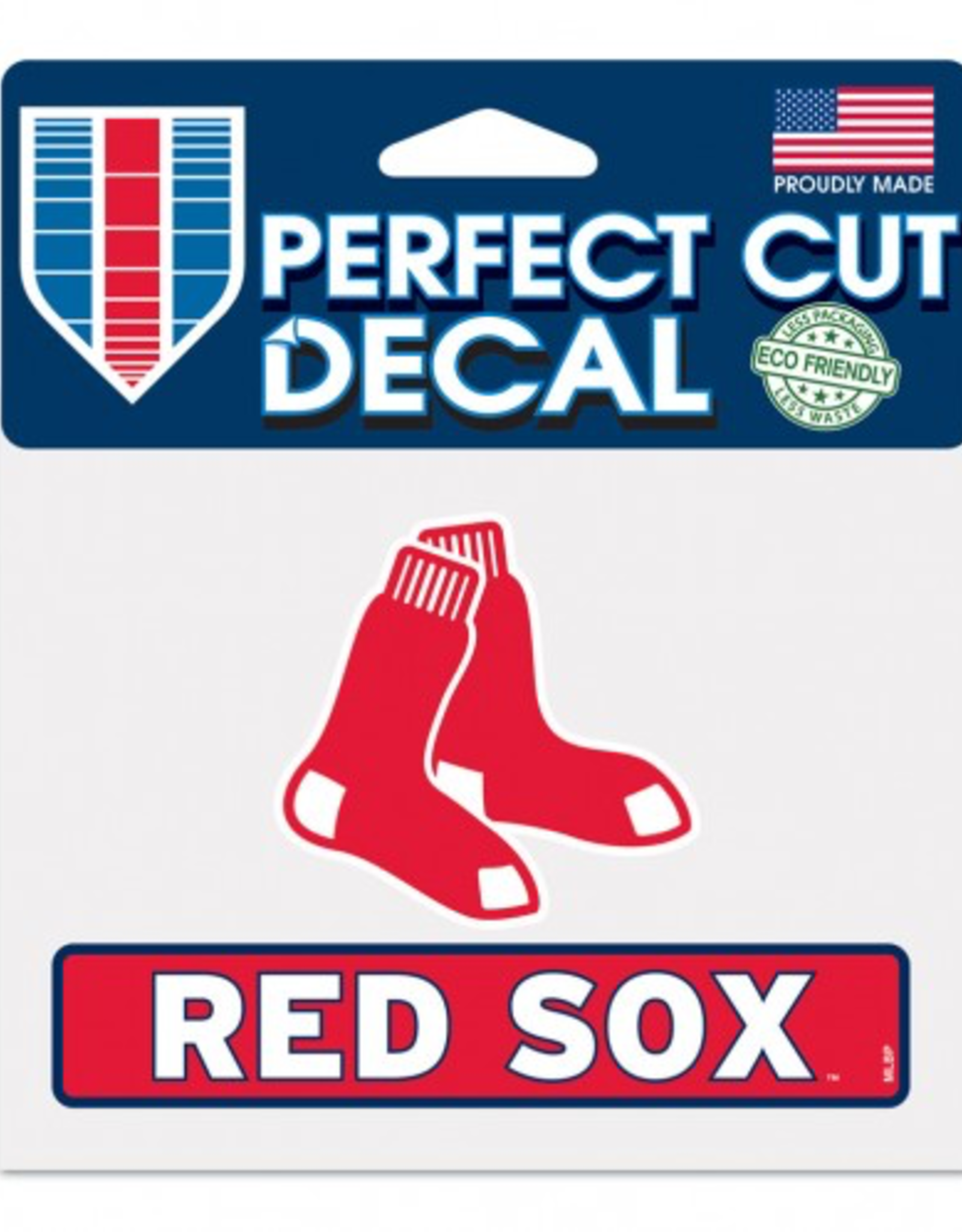 """WINCRAFT Boston Red Sox 4.5"""" x 5.75"""" Perfect Cut Decals"""