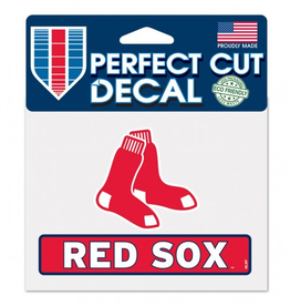 "WINCRAFT Boston Red Sox 4.5"" x 5.75"" Perfect Cut Decals"