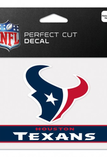 "WINCRAFT Houston Texans 4.5"" x 5.75"" Perfect Cut Decals"