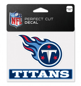 "WINCRAFT Tennessee Titans 4.5"" x 5.75"" Perfect Cut Decals"