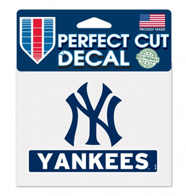 "WINCRAFT New York Yankees 4.5"" x 5.75"" Perfect Cut Decals"