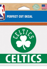 "WINCRAFT Boston Celtics 4.5"" x 5.75"" Perfect Cut Decals"