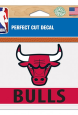 "WINCRAFT Chicago Bulls 4.5"" x 5.75"" Perfect Cut Decals"