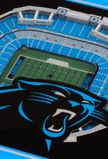 YOU THE FAN Carolina Panthers 3-D StadiumViews Coasters 2-Pack