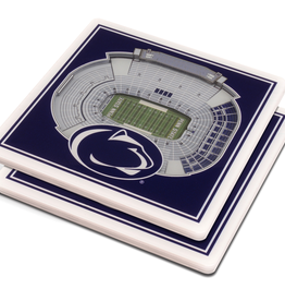YOU THE FAN Penn State Nittany Lions 3-D StadiumViews Coasters 2-Pack