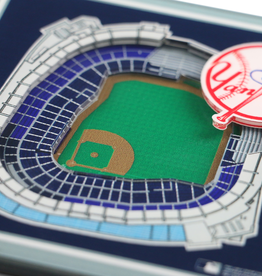 YOU THE FAN New York Yankees 3-D StadiumViews Coasters 2-Pack
