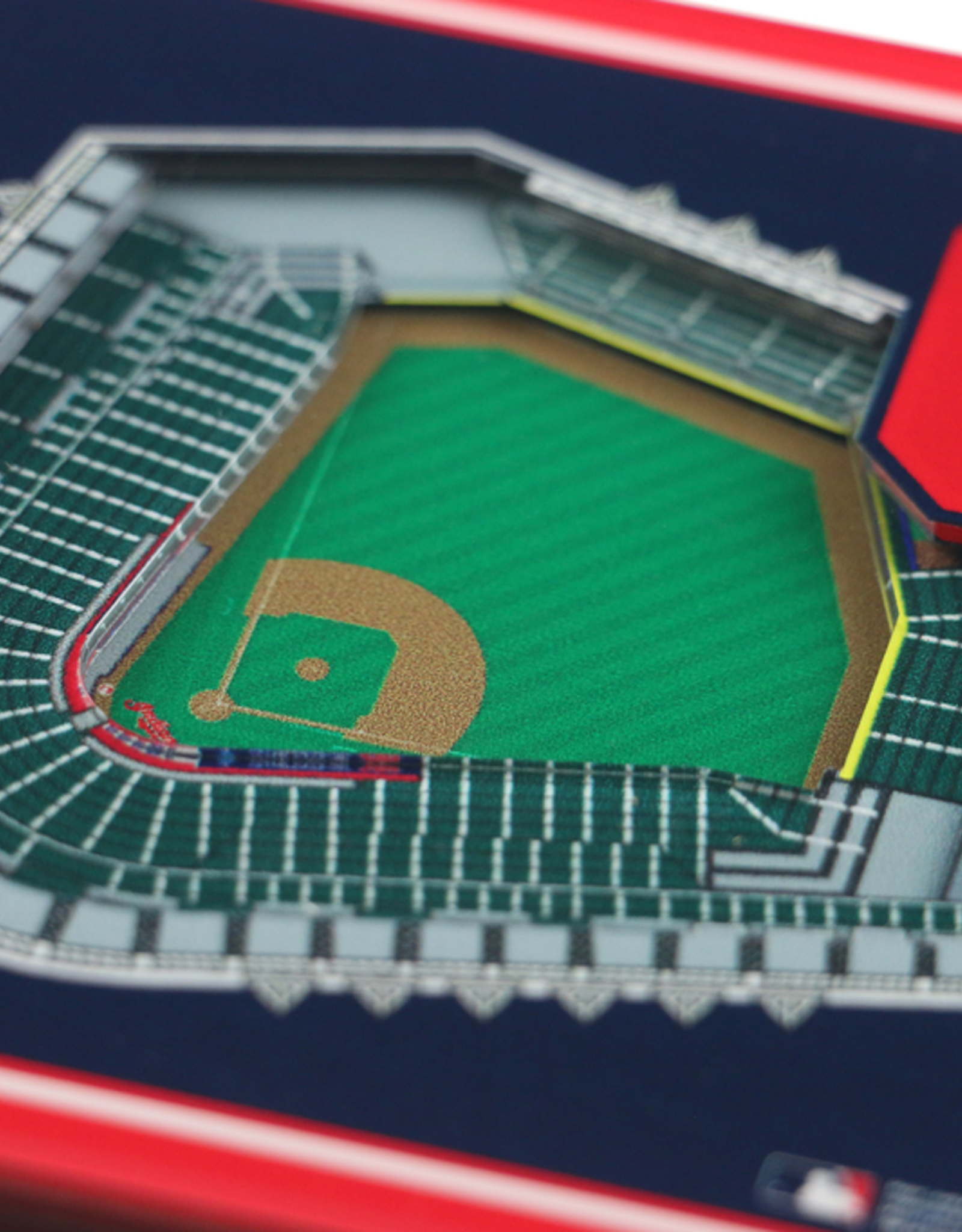 YOU THE FAN Cleveland Indians 3-D StadiumViews Coasters 2-Pack