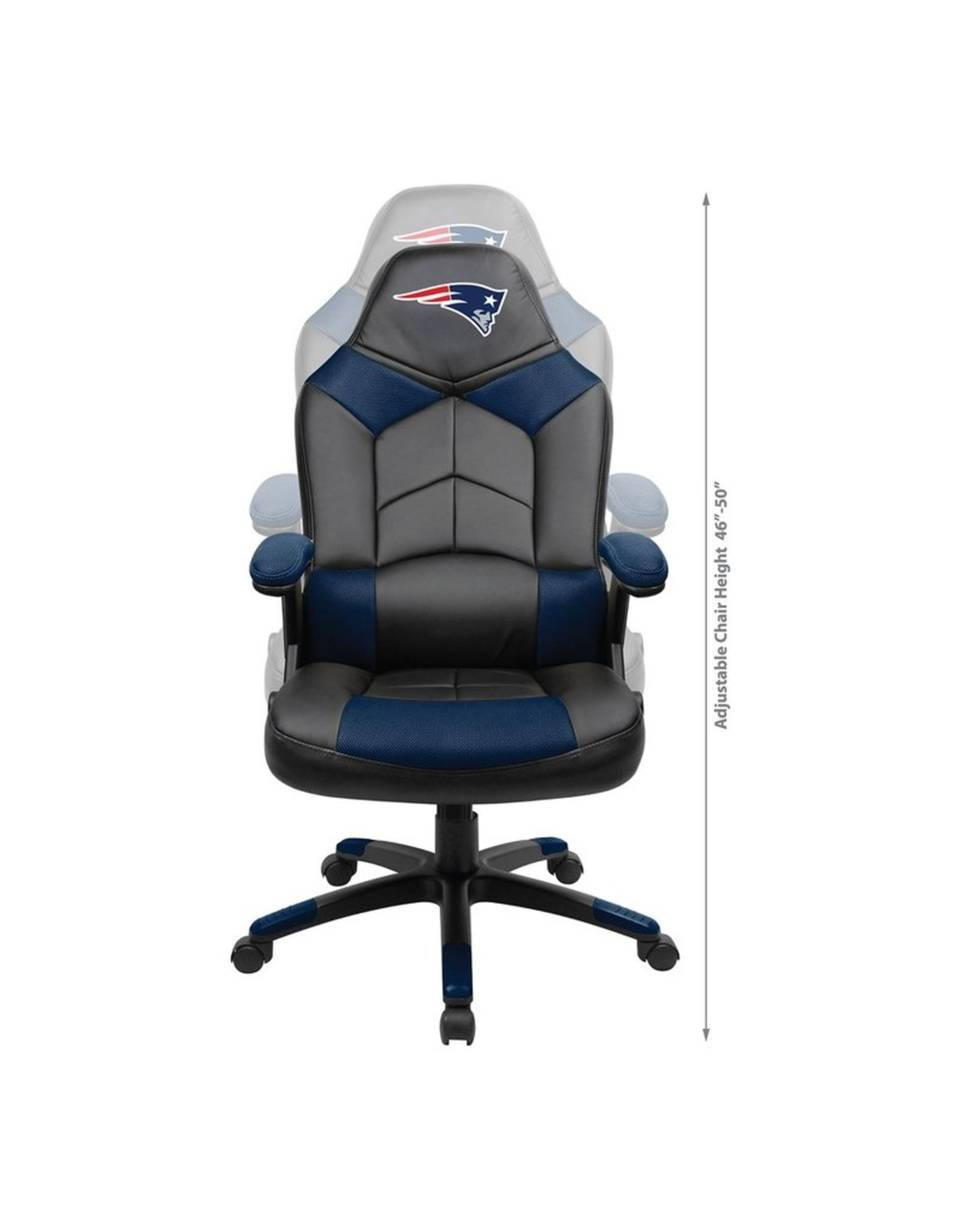 IMPERIAL New England Patriots Oversized Gaming/Office Chair
