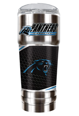 GREAT AMERICAN PRODUCTS Carolina Panthers 32oz Stainless Steel PRO Tumbler
