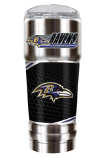 GREAT AMERICAN PRODUCTS Baltimore Ravens 32oz Stainless Steel PRO Tumbler