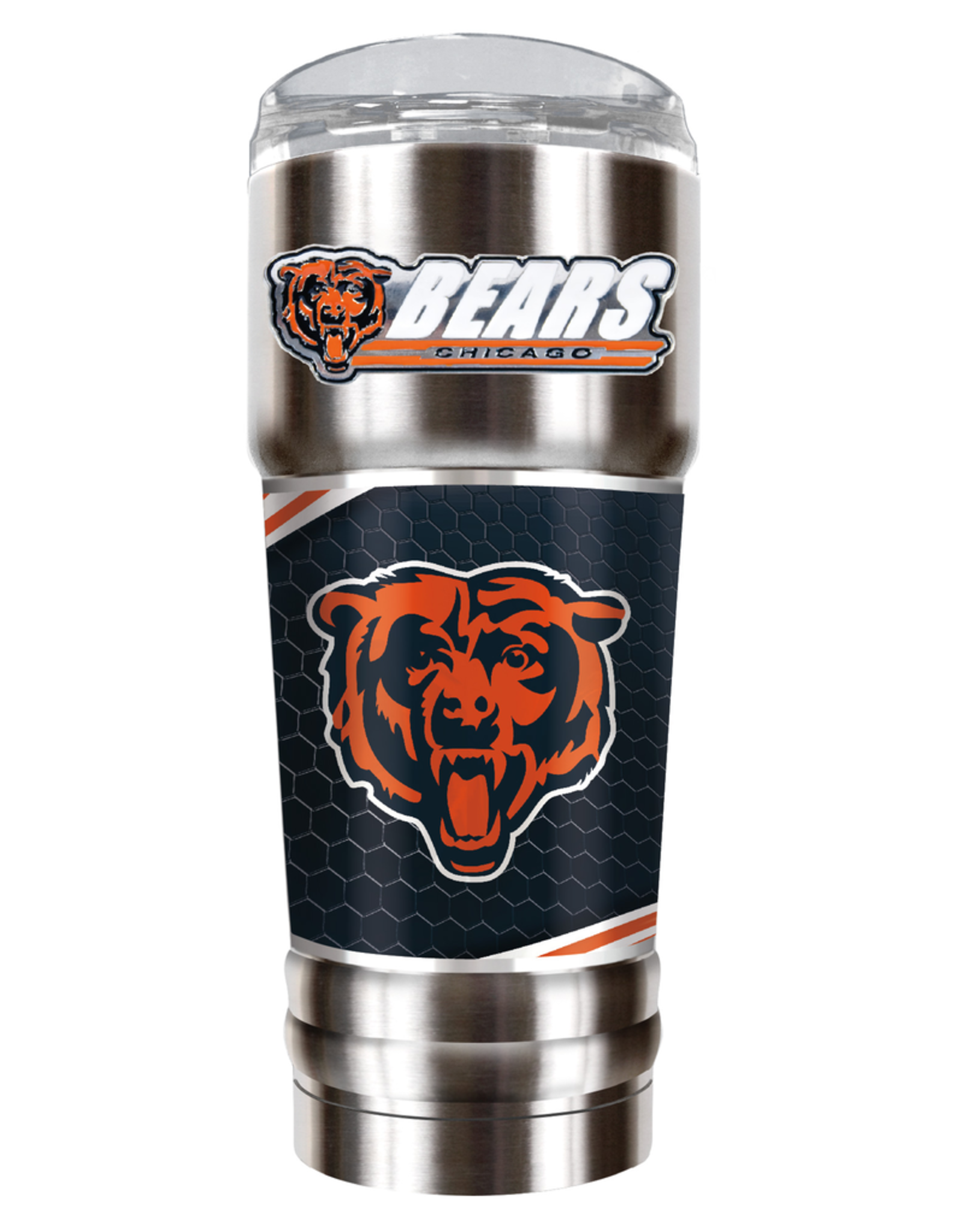GREAT AMERICAN PRODUCTS Chicago Bears 32oz Stainless Steel PRO Tumbler