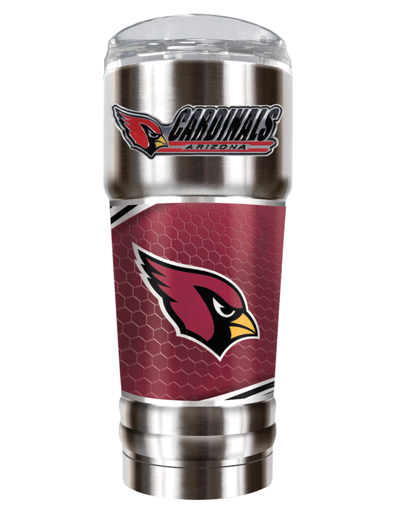 GREAT AMERICAN PRODUCTS Arizona Cardinals 32oz Stainless Steel PRO Tumbler