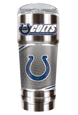 GREAT AMERICAN PRODUCTS Indianapolis Colts 32oz Stainless Steel PRO Tumbler