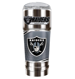 GREAT AMERICAN PRODUCTS Oakland Raiders 32oz Stainless Steel PRO Tumbler