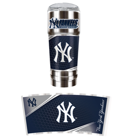 GREAT AMERICAN PRODUCTS New York Yankees 32oz Stainless Steel PRO Tumbler