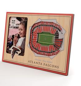 YOU THE FAN Atlanta Falcons 3-D Stadium Picture Frame
