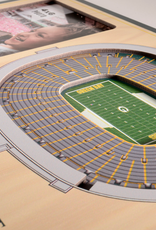 YOU THE FAN Green Bay Packers 3-D Stadium Picture Frame