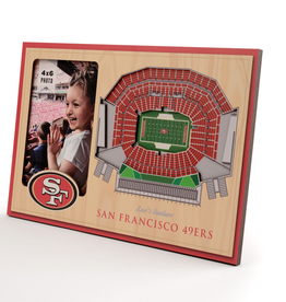 YOU THE FAN San Francisco 49ers 3-D Stadium Picture Frame