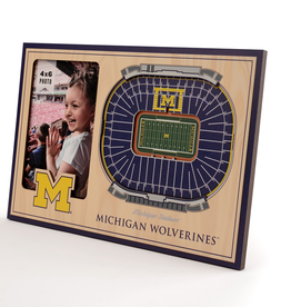 YOU THE FAN Michigan Wolverines 3-D Stadium Picture Frame