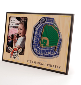 YOU THE FAN Pittsburgh Pirates 3-D Stadium Picture Frame