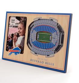YOU THE FAN Buffalo Bills 3-D Stadium Picture Frame