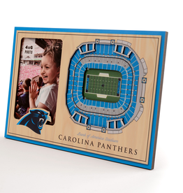 YOU THE FAN Carolina Panthers 3-D Stadium Picture Frame