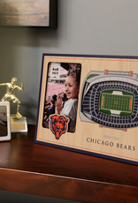 YOU THE FAN Chicago Bears 3-D Stadium Picture Frame