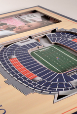 YOU THE FAN New England Patriots 3-D Stadium Picture Frame