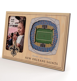 YOU THE FAN New Orleans Saints 3-D Stadium Picture Frame