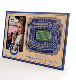 YOU THE FAN Indianapolis Colts 3-D Stadium Picture Frame