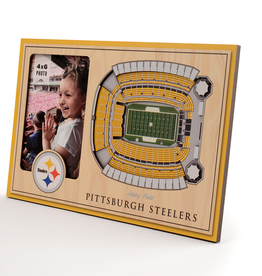 YOU THE FAN Pittsburgh Steelers 3-D Stadium Picture Frame