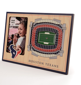 YOU THE FAN Houston Texans 3-D Stadium Picture Frame