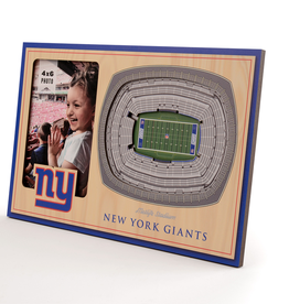 YOU THE FAN New York Giants 3-D Stadium Picture Frame
