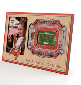 YOU THE FAN Tampa Bay Buccaneers 3-D Stadium Picture Frame