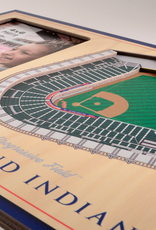 YOU THE FAN Cleveland Indians 3-D Stadium Picture Frame