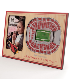 YOU THE FAN Arizona Cardinals 3-D Stadium Picture Frame