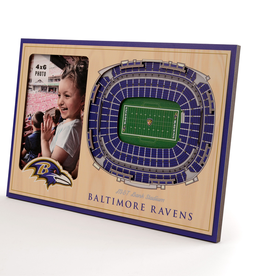 YOU THE FAN Baltimore Ravens 3-D Stadium Picture Frame