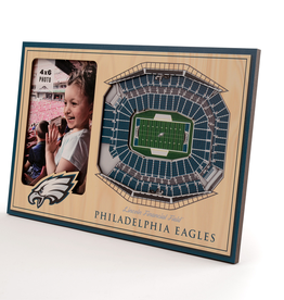 YOU THE FAN Philadelphia Eagles 3-D Stadium Picture Frame