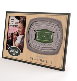 YOU THE FAN New York Jets 3-D Stadium Picture Frame
