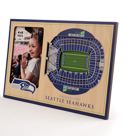 YOU THE FAN Seattle Seahawks 3-D Stadium Picture Frame