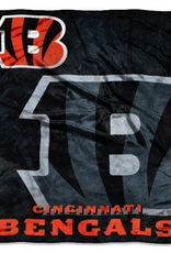 NORTHWEST Cincinnati Bengals 50in x 60in Roll Out Royal Plush Throw