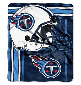 "NORTHWEST Tennessee Titans 50""x60"" Touchback Royal Plush Raschel Throw"
