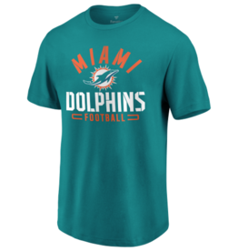 FANATICS Miami Dolphins Men's Flex Blend Battle Tee