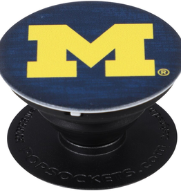 POPSOCKETS LLC Michigan Wolverines PopSockets Cell Phone Holder